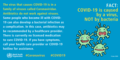FACT- The coronavirus disease (COVID-19) is caused by a virus, NOT by bacteria.png