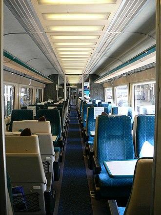 British Rail Classes 253, 254 and 255 - Image: FGW HST Standard Class coach B 2005 06 09