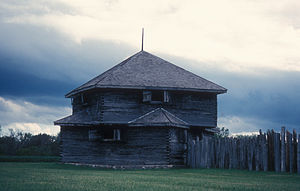 National Register of Historic Places listings in Richland County, North Dakota - Image: FORT ABERCROMBIE
