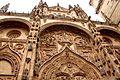 Fachada de la catedral nueva de Salamanca.JPG
