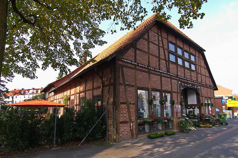 File fachwerk in der brabeckstr in kirchrode hannover for Fachwerk wikipedia