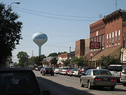 Buildings in downtown Fairbury