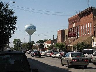 Fairbury, Illinois - Buildings in downtown Fairbury