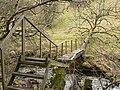 Fallen tree bridge - geograph.org.uk - 128178.jpg