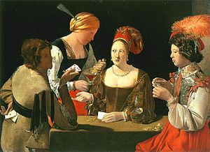 Card sharp - Image: Falschspieler