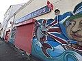 Famous British Fish & Chips - Holyhead Road, Wednesbury - graffiti street art - The Queen (26753743649).jpg