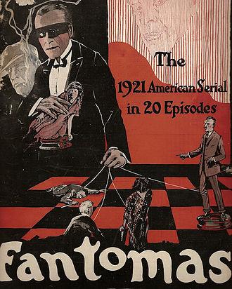 Fantômas (1920 serial) - Advert for the film
