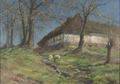 Farm in Skåne (Erika Jonn) - Nationalmuseum - 23761.tif