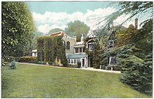 Farringford - Lord Tennyson's residence - c1910 - Project Gutenberg eText 17296.jpg