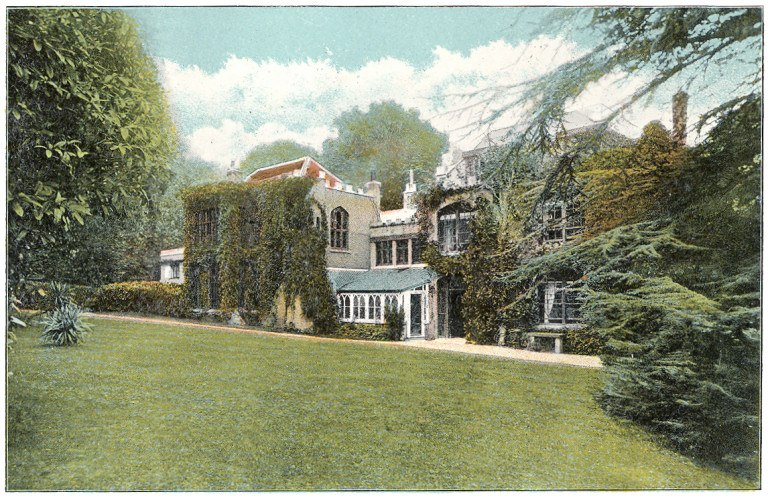 Farringford - Lord Tennyson's residence - c1910 - Project Gutenberg eText 17296