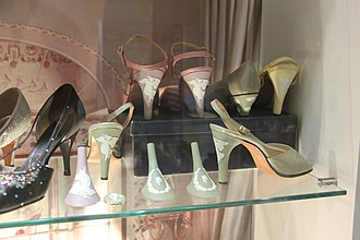 Fashion and Textile Museum - Shoes at the museum