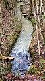 Fast flowing stream in Tugley Wood - geograph.org.uk - 1136806.jpg