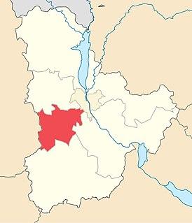 Fastiv Raion Subdivision of Kyiv Oblast, Ukraine