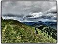 Fatranské hrebene z Lysca - panoramio.jpg