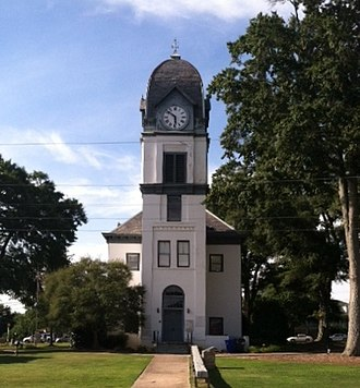 Fayette County, Georgia - Image: Fayette County GA courthouse