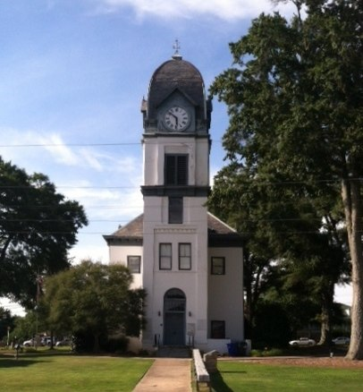 Fayette County GA courthouse