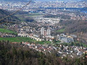 Economy of Switzerland - Image: Felsenegg Leimbach IMG 3233