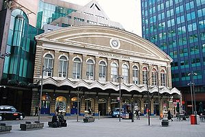 Fenchurch Street railway station - Main entrance on Fenchurch Place