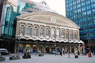 central London railway terminus