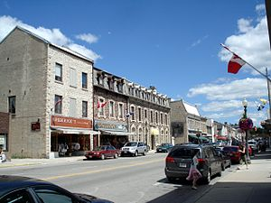 Centre Wellington - St. Andrew Street in Fergus.