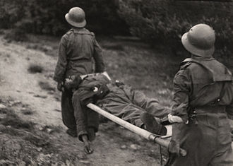 Gerda Taro - A 1937 photograph by Taro of Republican soldiers at the Navacerrada Pass in Spain
