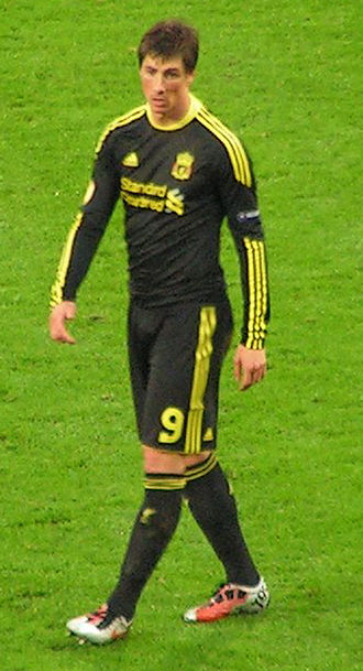 Fernando Torres - Torres playing for Liverpool 2010
