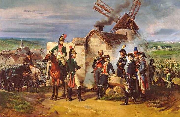 Feron - Le Duc de Chartres à Valmy (1792)