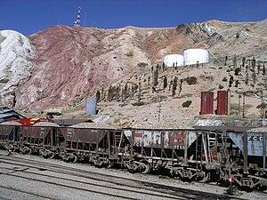 La Oroya - Rail station