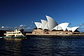 Ferry on the harbour. Sydney. (8114383768).jpg