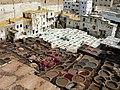 Fez, La Medina. Curtido de Pieles. - panoramio.jpg