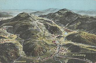 Fichtelberg, Bavaria - Fichtelberg (postcard around 1910/1920)