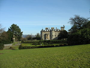 Finlaystone House - Finlaystone House, west front