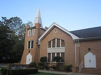 Choudrant, Louisiana - First Baptist Church of Choudrant