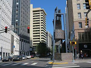 Marietta Street - Looking northwest up Marietta Street from Five Points
