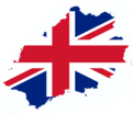 Flag-Map of Saint Helena UK.png