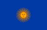 Flag of Tacna Regiment (1820 proposal).svg