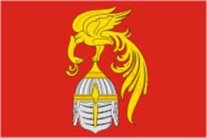 Yuzhsky District - Image: Flag of Yuzha rayon (Ivanovo oblast)