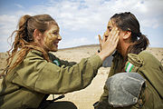 Flickr - Israel Defense Forces - Female Infantry Instructors Prepare for a Combat Exercise, Nov 2010