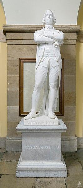 US Capitol - Samuel Adams Statue