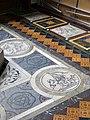 Floor tiles, St John the Baptist Church, Frome - geograph.org.uk - 867666.jpg