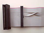 Floppy buskabel