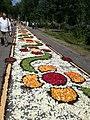 Flower carpets for Corpus Christi in Spycimierz, Gmina Uniejów 2.jpg