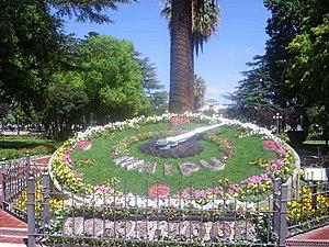 Maipú, Mendoza - Image: Flower clock