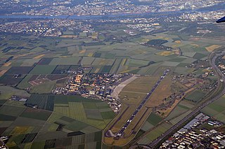 Military barracks in Wiesbaden-Erbenheim, Germany
