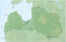 Panoramio - Photo of Bauska. Musa, Memele and Lielupe river.