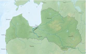 Lielupe - Image: Fluss lv Lielupe