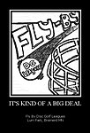 Fly By Disc Golf It is Kind of a Big Deal Poster.jpg