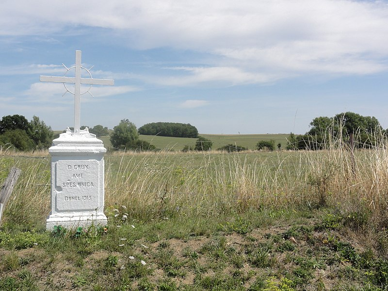 Foameix-Ornel (Meuse) croix de chemin Ornel
