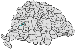 Location of Fogaras