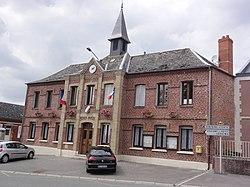 Fonsomme (Aisne) mairie.JPG